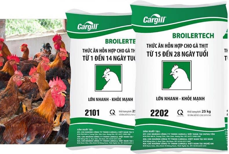 bảng giá cám cargill