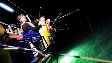 câu cá biển đêm