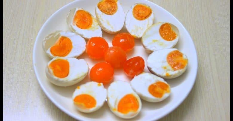 trứng vịt muối