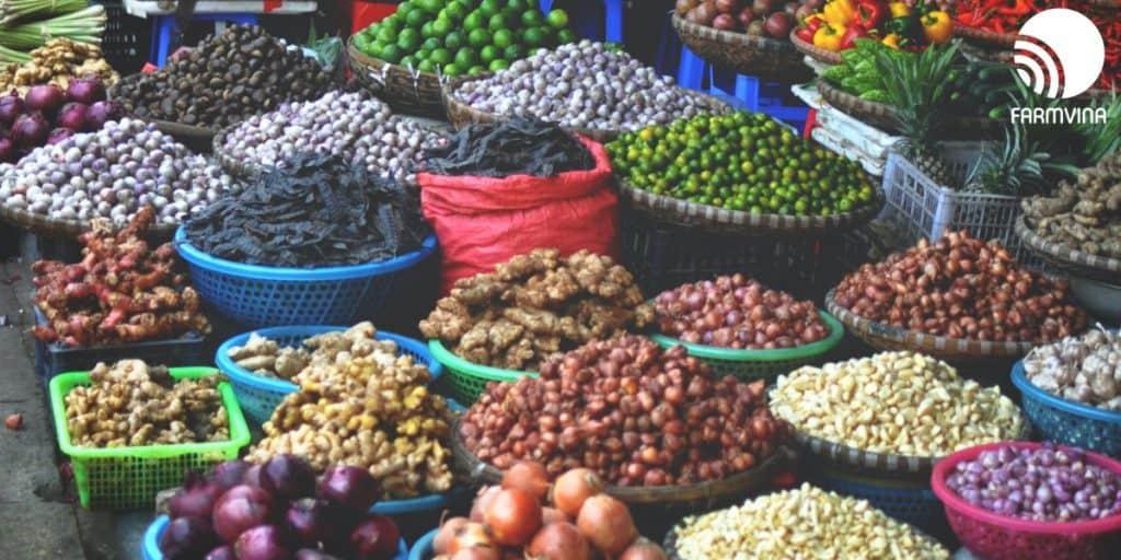 chiến lược phân phối nông sản